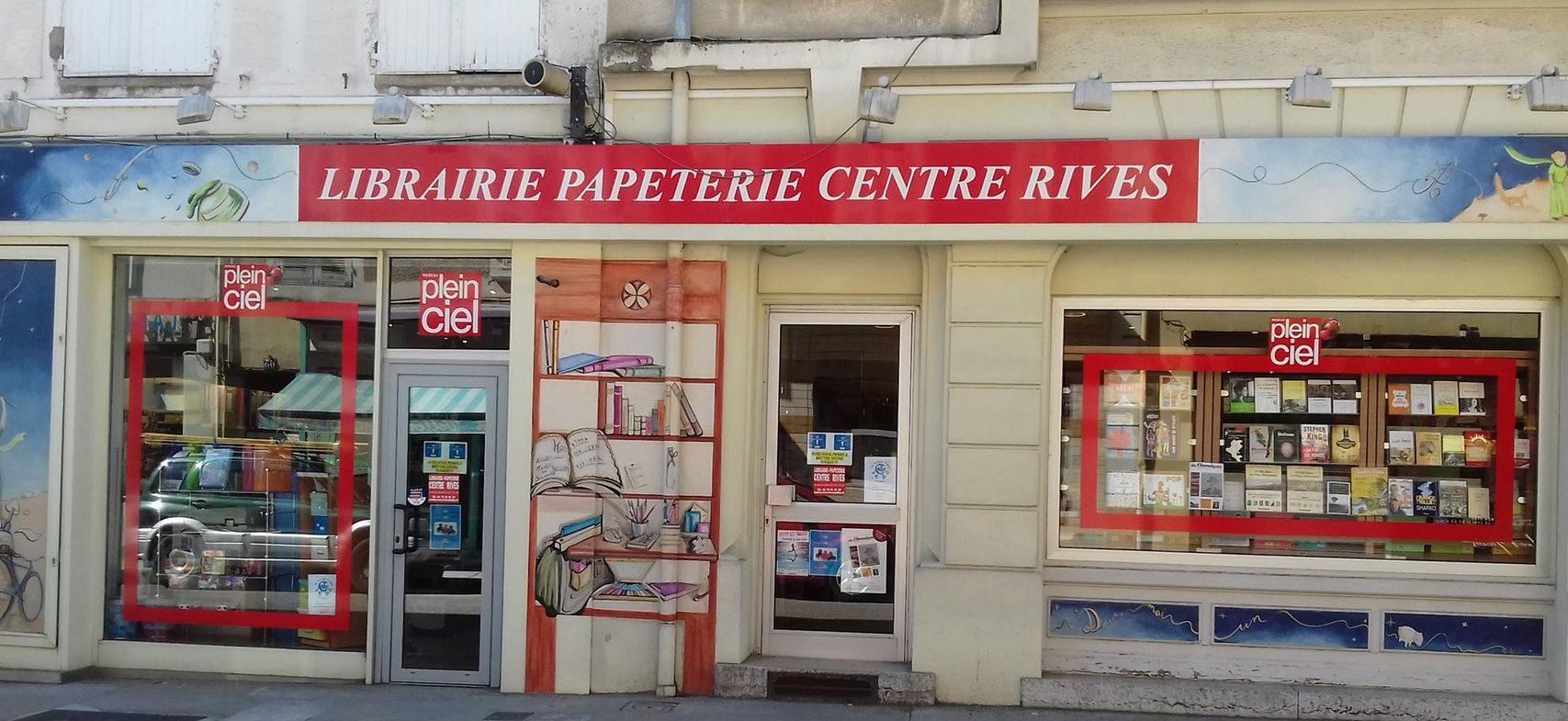 Librairie papeterie Centre Rives